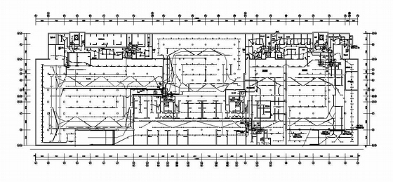 某27层住宅楼地下车库电气图纸
