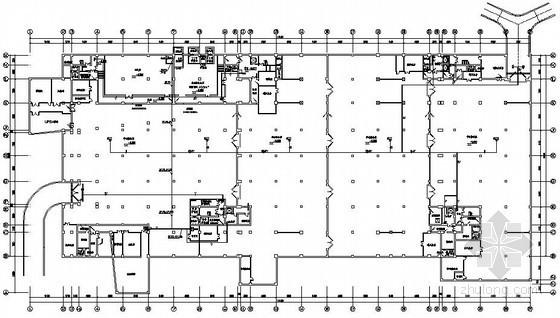 某办公楼弱电工程安防系统电气图纸