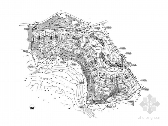 住宅楼总平面图