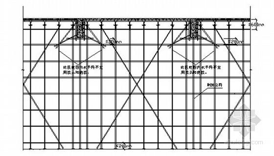大空间扣件式钢管模板支撑架施工工法
