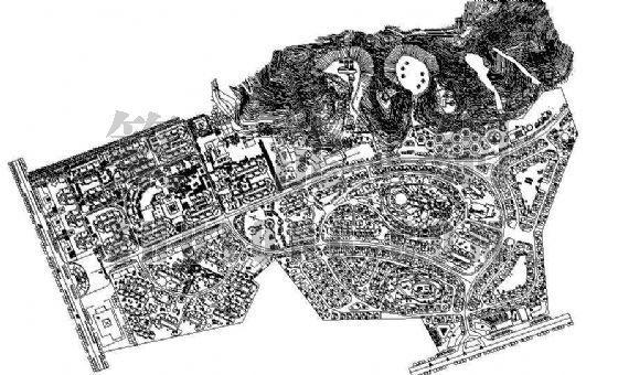 碧桂园小区规划方案设计