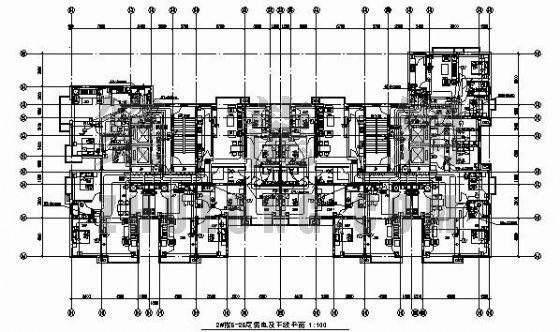高层住宅楼电气设计图纸(五)
