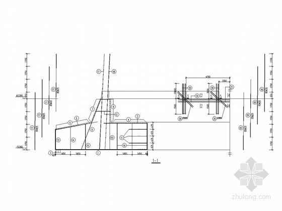 120米高烟囱基础设计详图