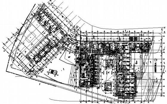 [南京]酒店式公寓空调设计施工图85张