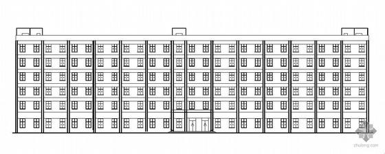 [永州]某六层综合办公楼建筑设计方案(有计算书)