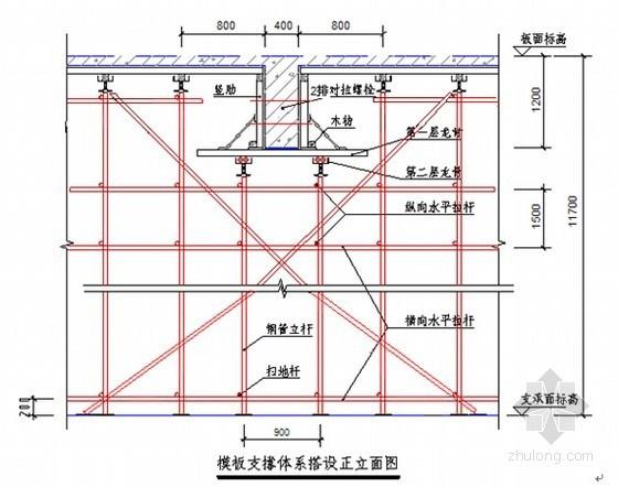 [广西]高层建筑工程悬挑高支模施工方案