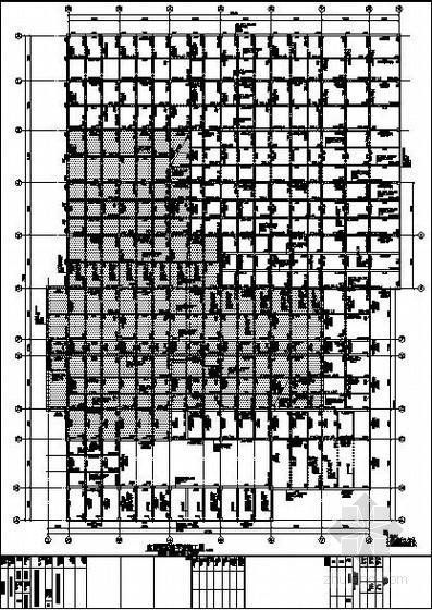 12层框架结构活动中心结构施工图