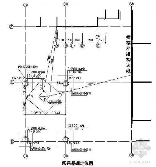 广州某大型商住楼QTZ63自升塔式起重机施工方案