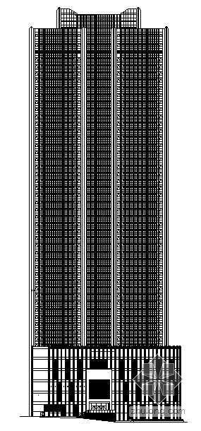 [烟台]某四十八层商住楼建筑施工图(149.6米)