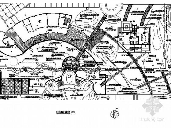 [福州]生态高端居住区二期景观设计施工图