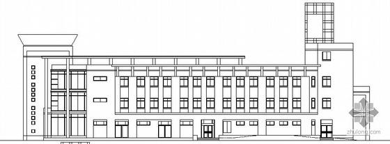 浦江镇120号配套商品房H地块公建综合商场建筑方案图