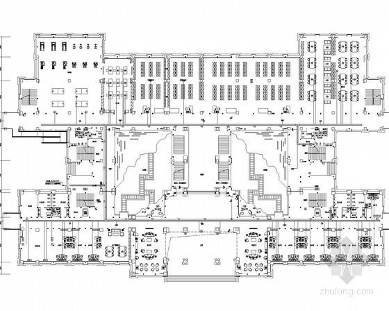 [安徽]某党校弱电智能化施工图190张(教学楼 办公楼 报告厅 学员公寓等 智能化设计一级)