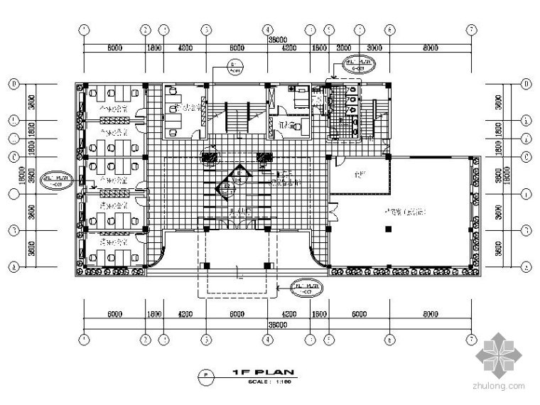 [苏州]某工商分局旧楼改造装修图_1