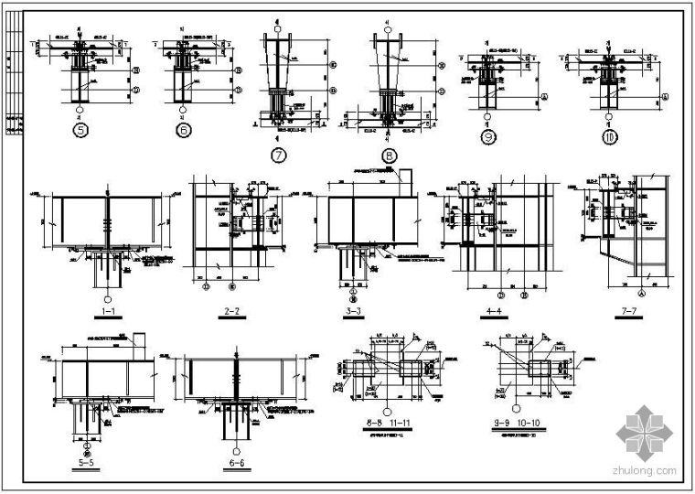 某厂房吊车梁节点构造详图_3