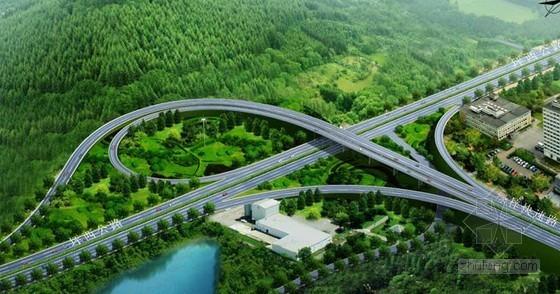 道路桥梁立交效果图图集2262张(附三维动画3个)
