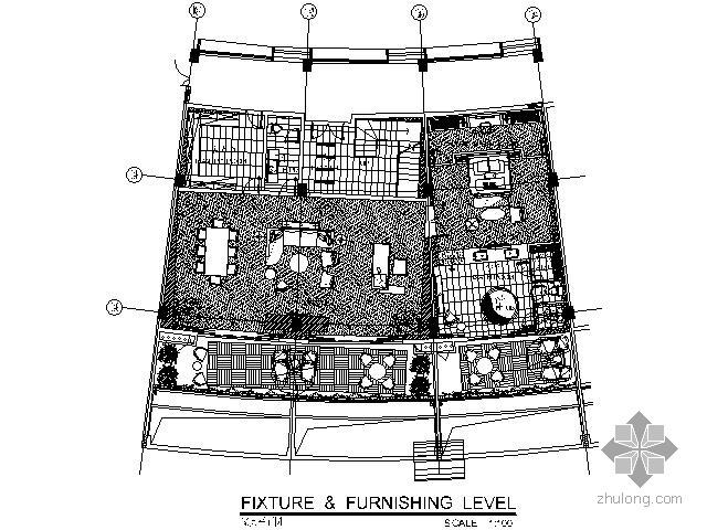 [三亚]某主题酒店D型客房施工图(含效果)