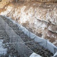 安平中石镀锌铝合金装石头的铁丝笼@防洪护岸
