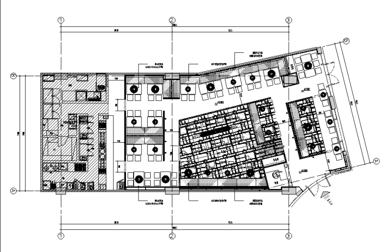 味千拉面上海西郊百联店设计施工图