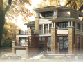 四层独栋别墅建筑设计方案