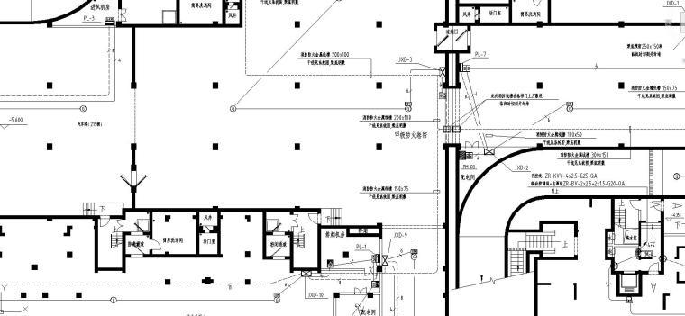 某小区高层地下室电气施工图_5