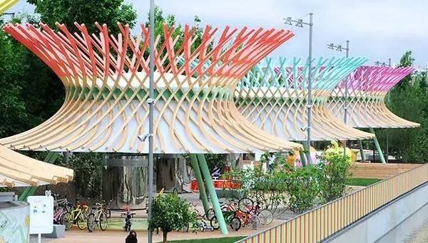 草编花篮一样的儿童公园设计