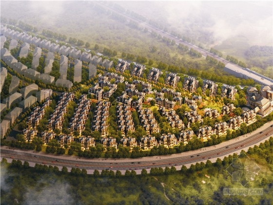 [成都]中式独立院落别墅区建筑设计方案文本