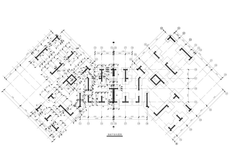 [西藏]9层纯剪力墙结构住宅楼结构施工图