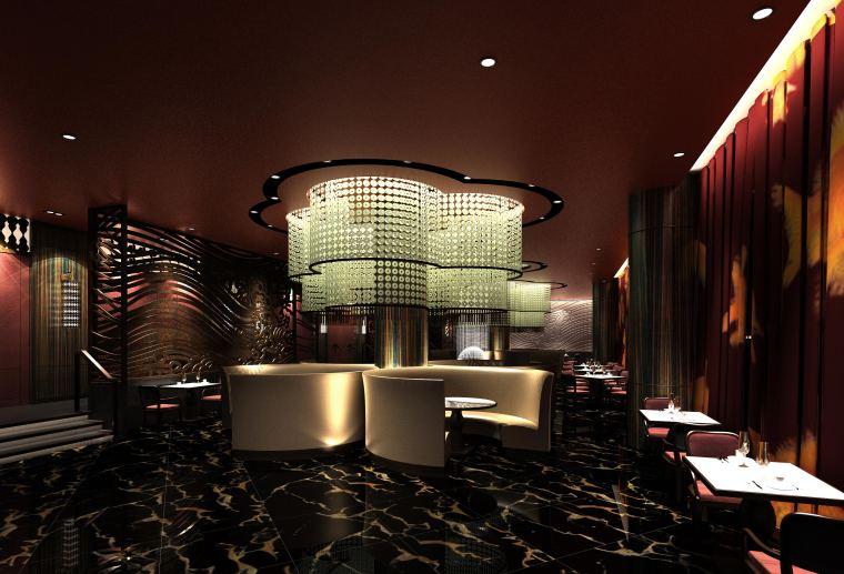 澳门五星级酒店中餐厅装修图(含效果图)