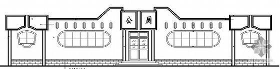 [合集]20套建筑小品——公厕建筑施工图及方案文本_1