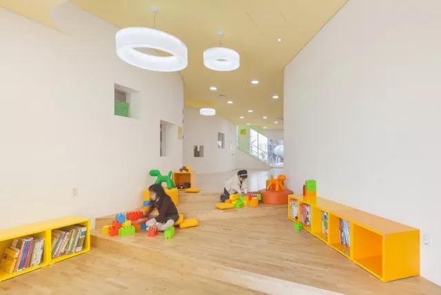 首尔幼儿园设计|空间结构与色彩搭配_6