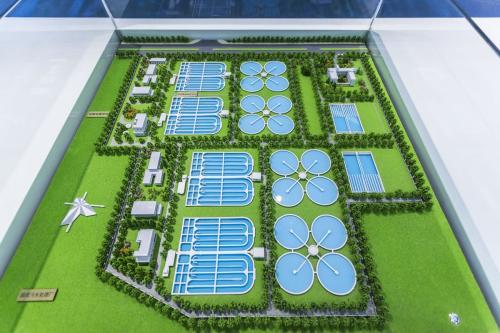 [安徽]马鞍山市滨江新区污水厂设计(毕业设计)