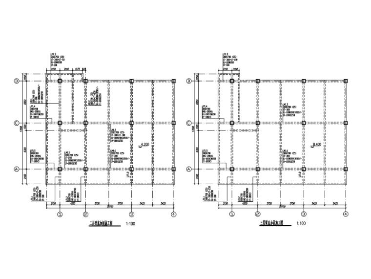 宾馆裙楼改造加固工程结构施工图