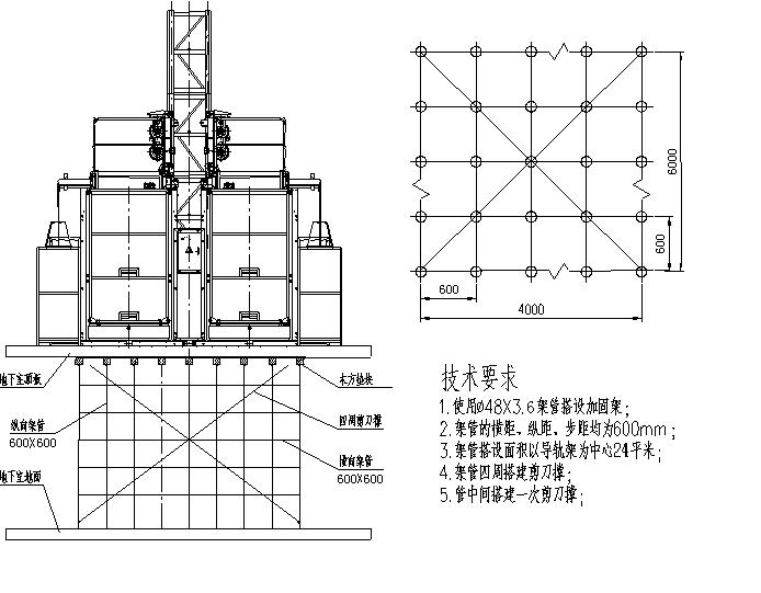 施工电梯基础专项施工方案(成都市)