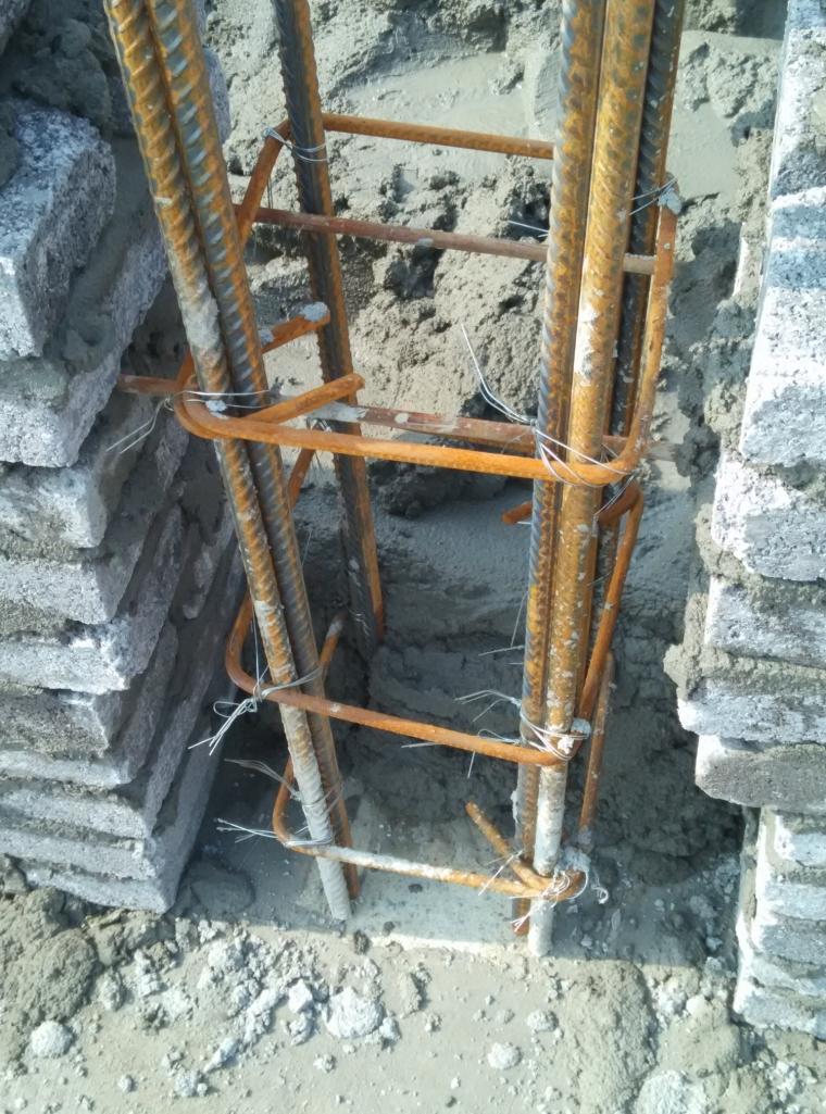 关于构造柱拉结筋和箍筋的起始摆放位置