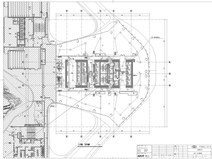 杭州·来福士广场施工图纸(水暖电)