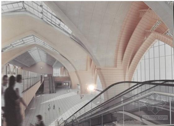 [宁夏]火车站清水混凝土拱壳模板施工方案