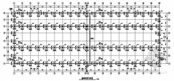 双T板屋面混凝土吊车梁厂房结构施工图