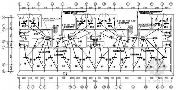 某七层职工公寓楼电气图纸