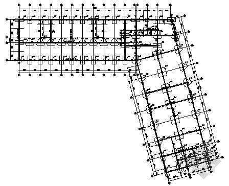 某三层厂房结构图纸