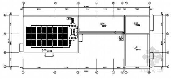 某高速公路太阳能热水系统图纸