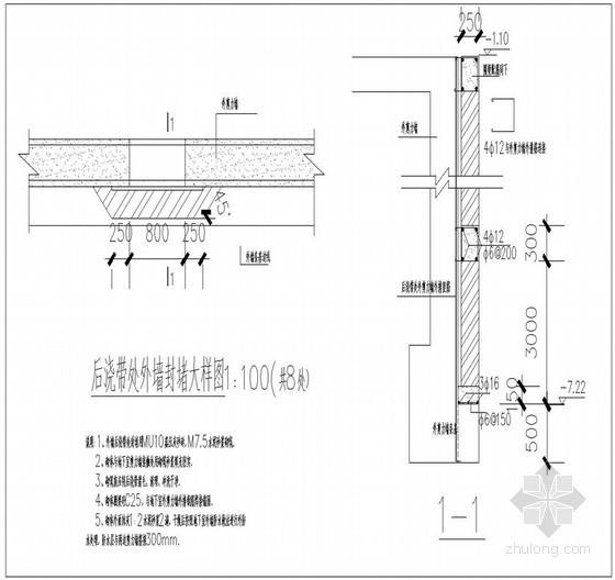 [湖北]地下室试水方案