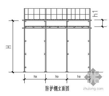 高层住宅施工升降机基础、接料平台施工方案(SCD200/200TD)