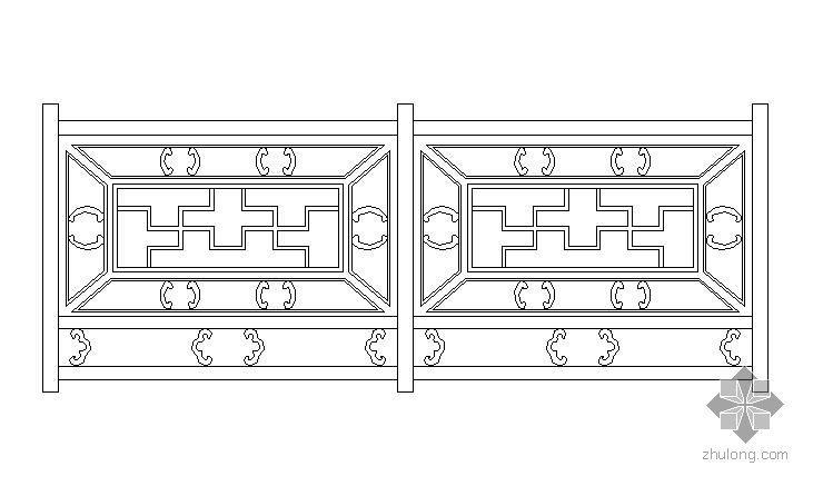 古典木栏杆样式6例