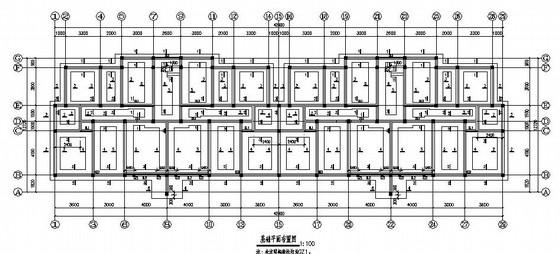 六层框架结构住宅楼结构施工图(坡屋面 阁楼)