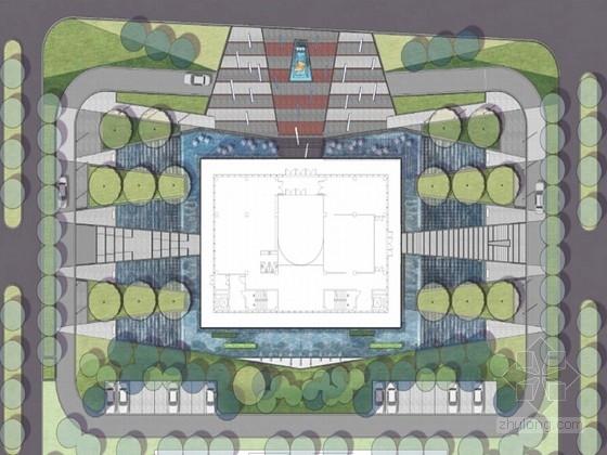 [辽宁]绿地展示中心及会所景观设计方案(效果图丰富)