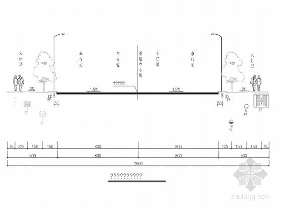 [重庆]市政道路排水工程施工图47张(雨污水分流 箱涵)