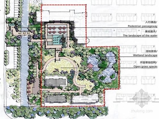 [合肥]贵族英伦高端山水别墅示范区设计方案