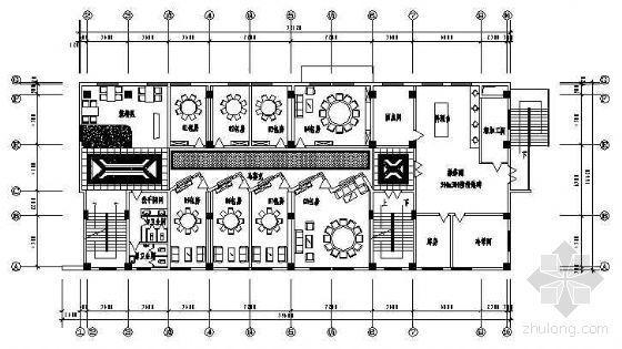 某国税局服务楼包房施工图