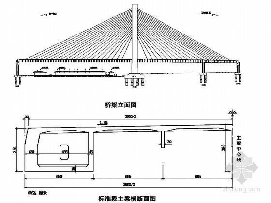 跨铁路桥主跨主梁挂篮悬浇及斜拉索挂设施工方案