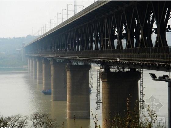 跨江大桥双壁钢吊箱围堰施工图